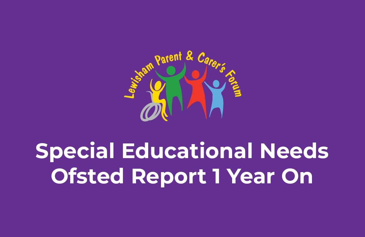 Ofsted Report 1 Year On